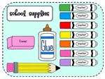 The 2017-2018 School Supply List for 3rd & 4th Grade Students.