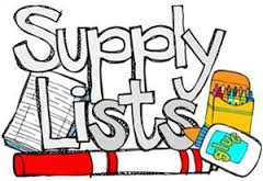 Click to view 3rd and 4th grade Supply Lists! image
