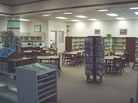 Celina Intermediate School Media Center.