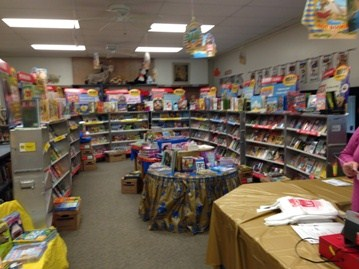 Celina Primary Book Fair is planned for once a year in the Fall.