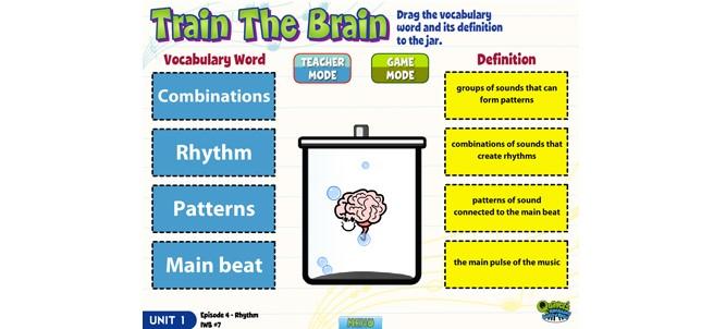 "Quaver game ""Train the Brain"" snapshot"