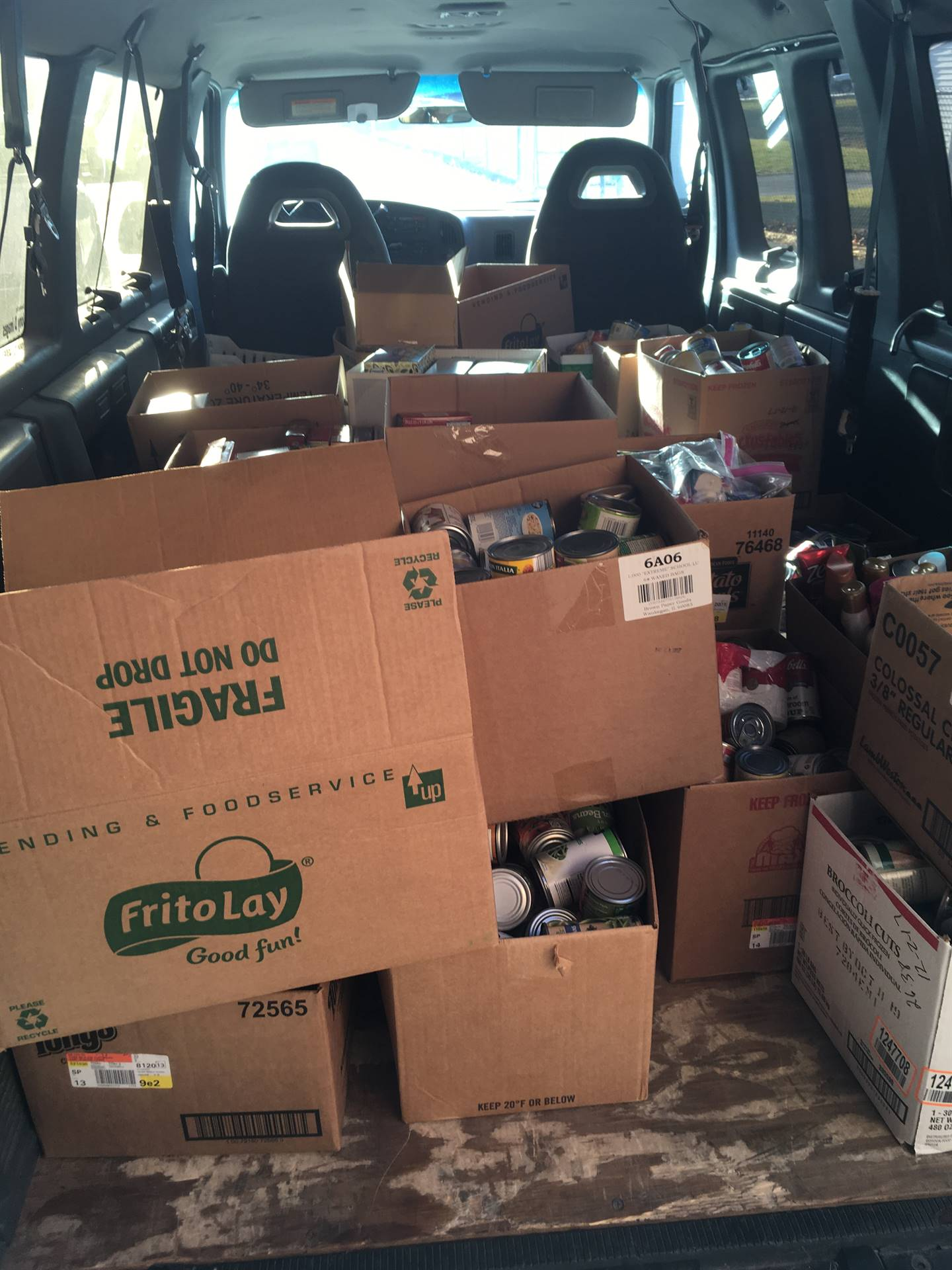 CALL Food Pantry Donation