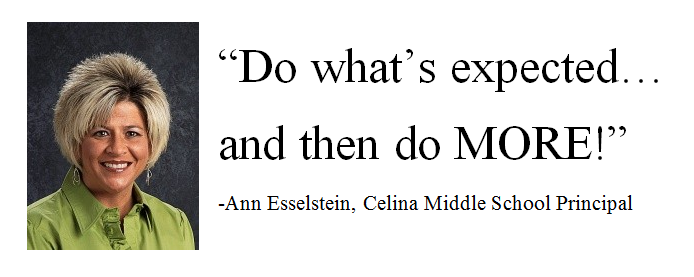 Ann Esselstein - Do what's expected and then do more.