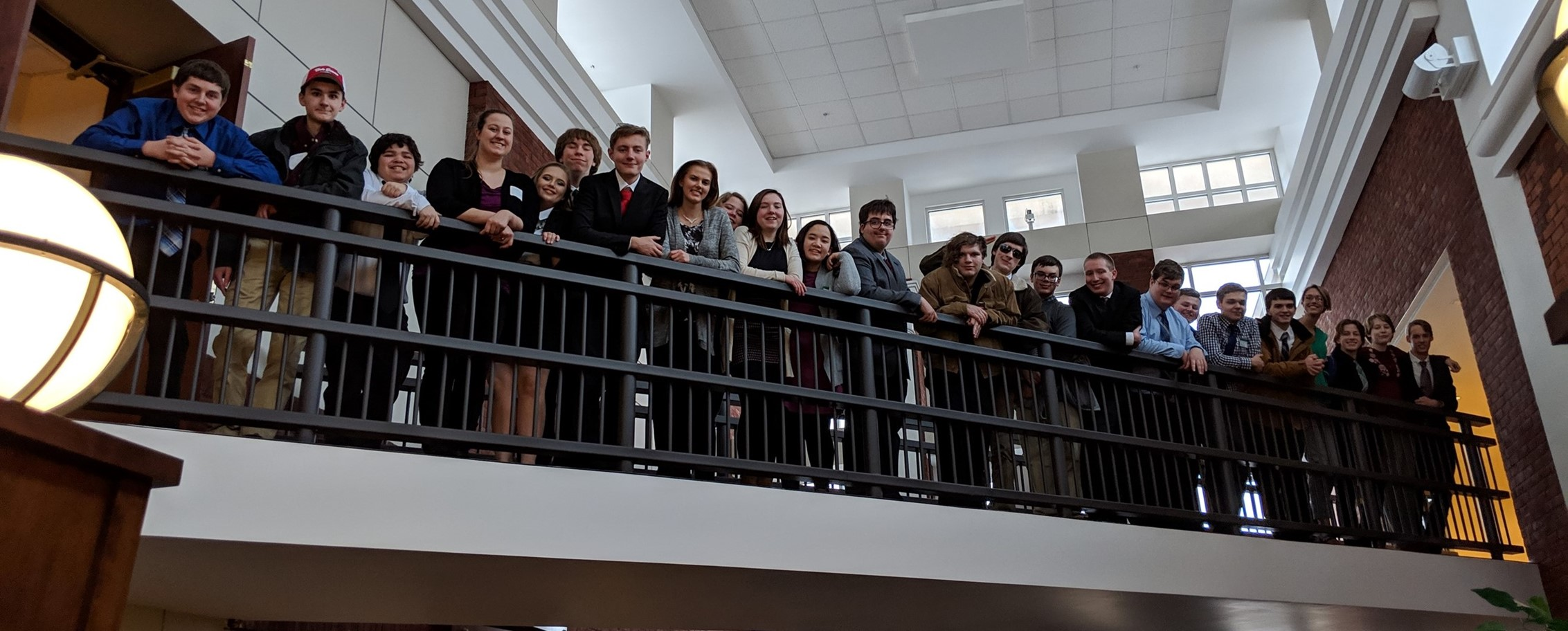 CHS Mock Trial Team Competes and Advances.
