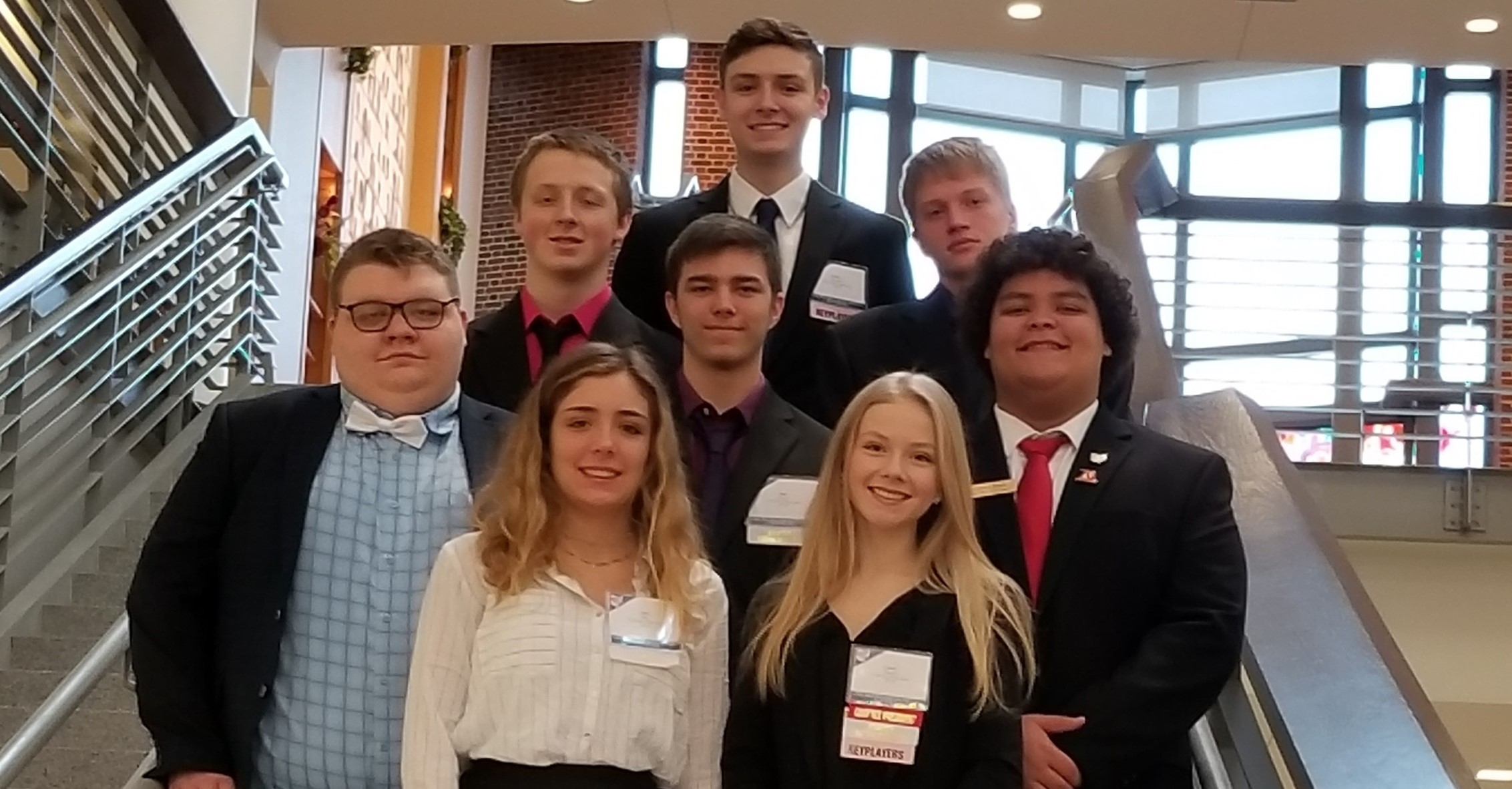 FBLA 2019 competes in the State Leadership Conference.
