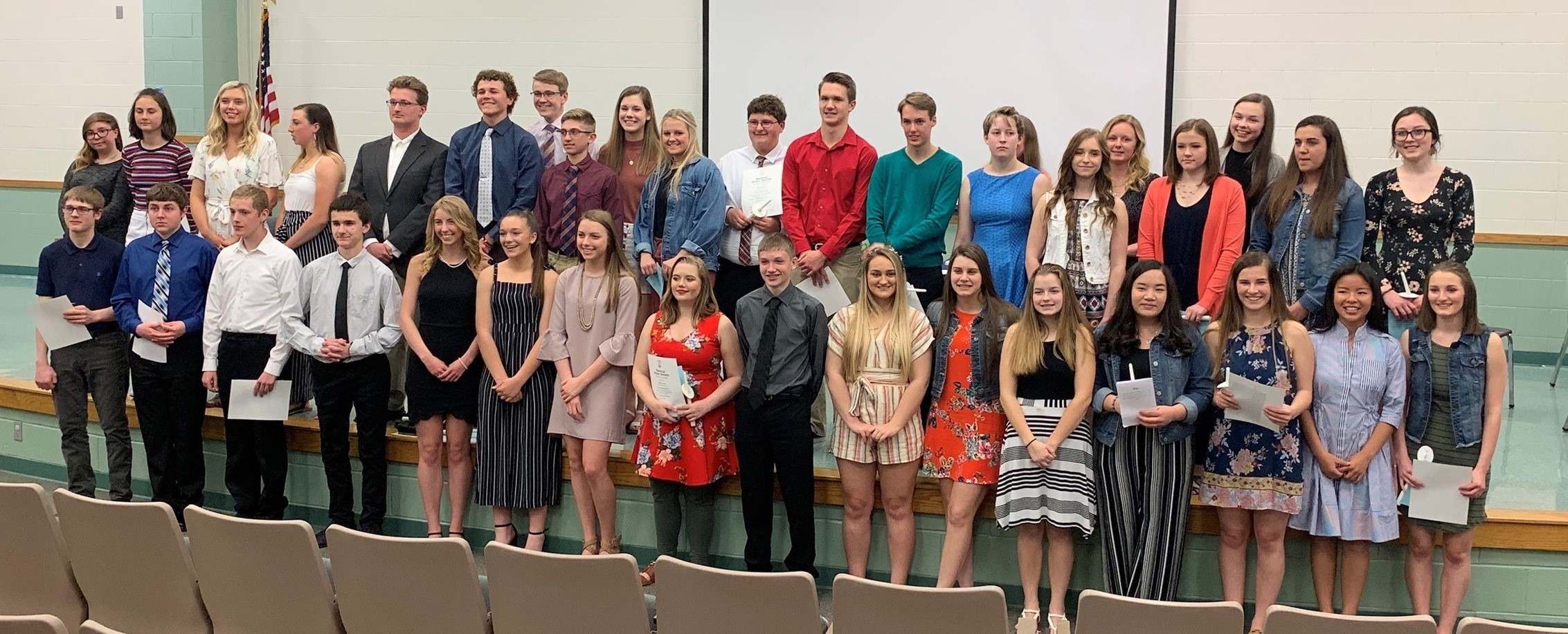 2019-2020 NHS Inductees