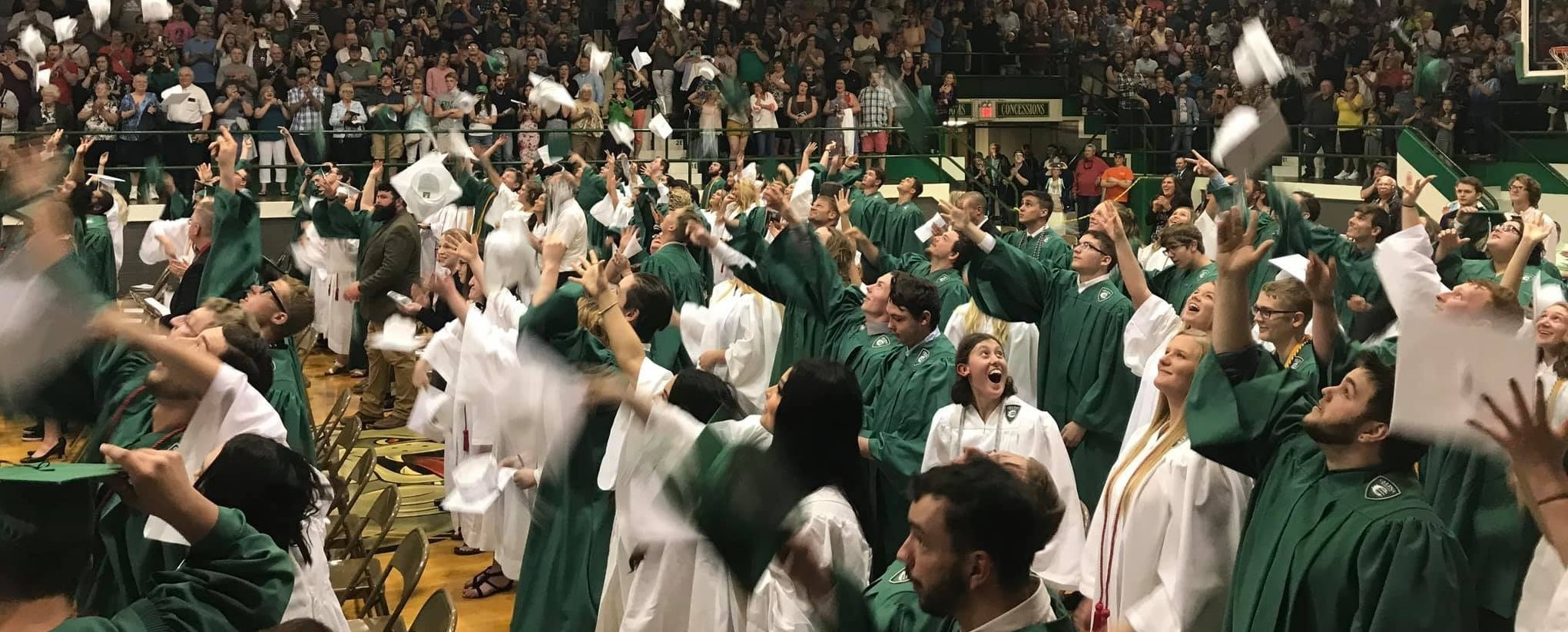 Graduation 2019 at Celina Field House, May 19, 2019.
