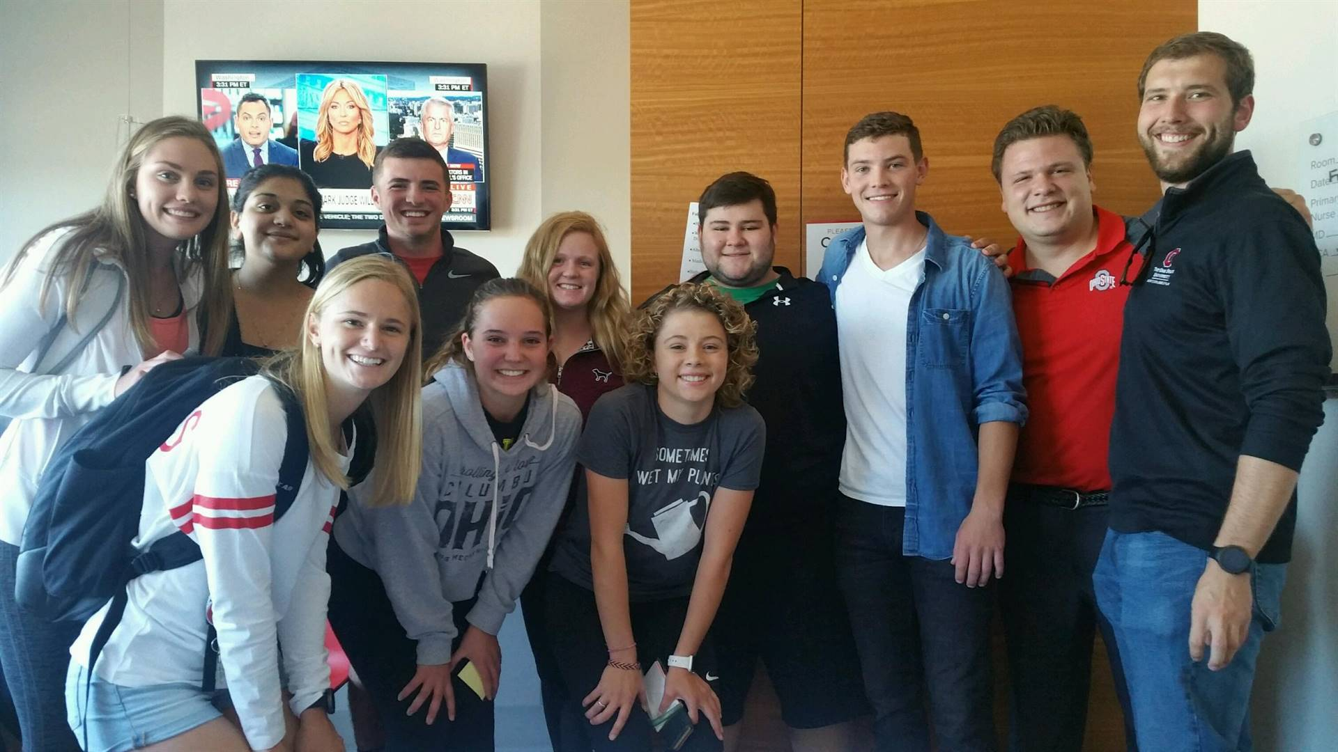 Celina Alumni Visit James Cancer Hospital