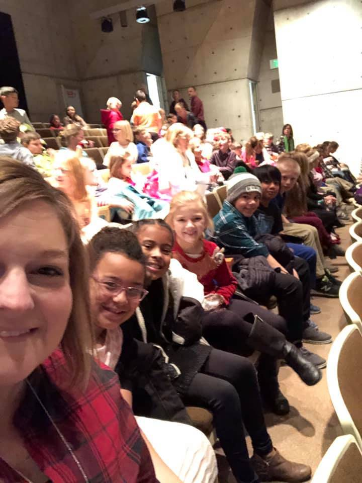 3rd grade students take a field trip to the Nutcracker each year!