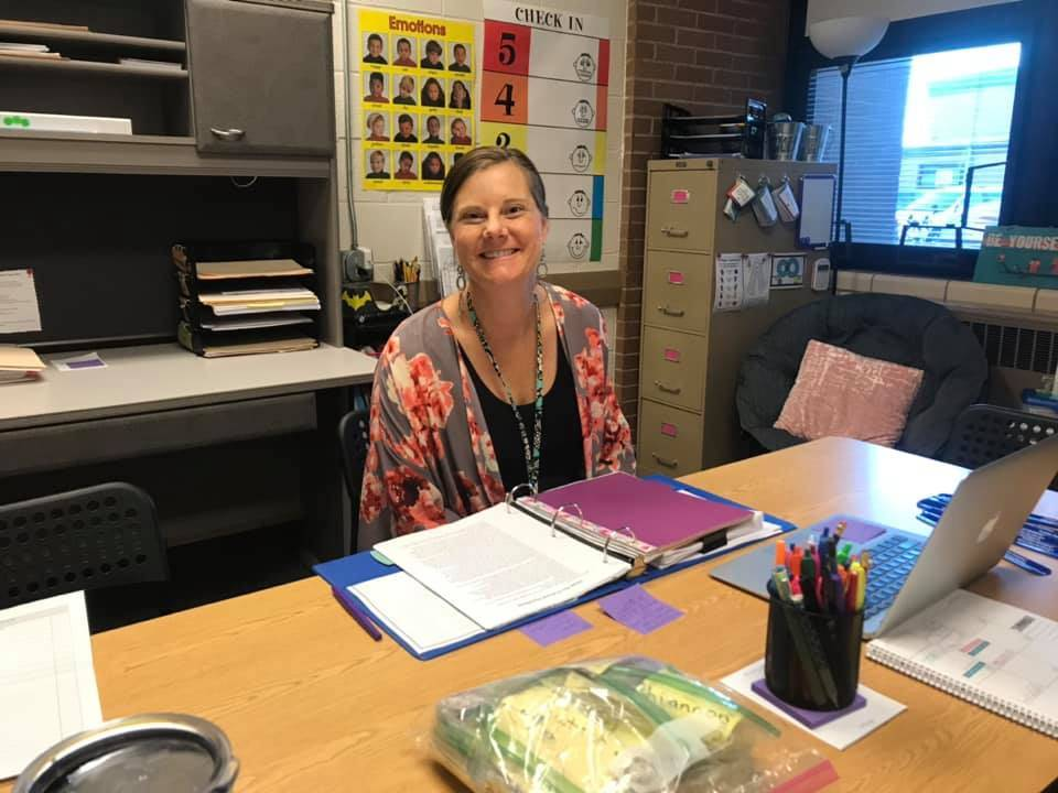 Our amazing School Counselor, Mrs. Simcoe!
