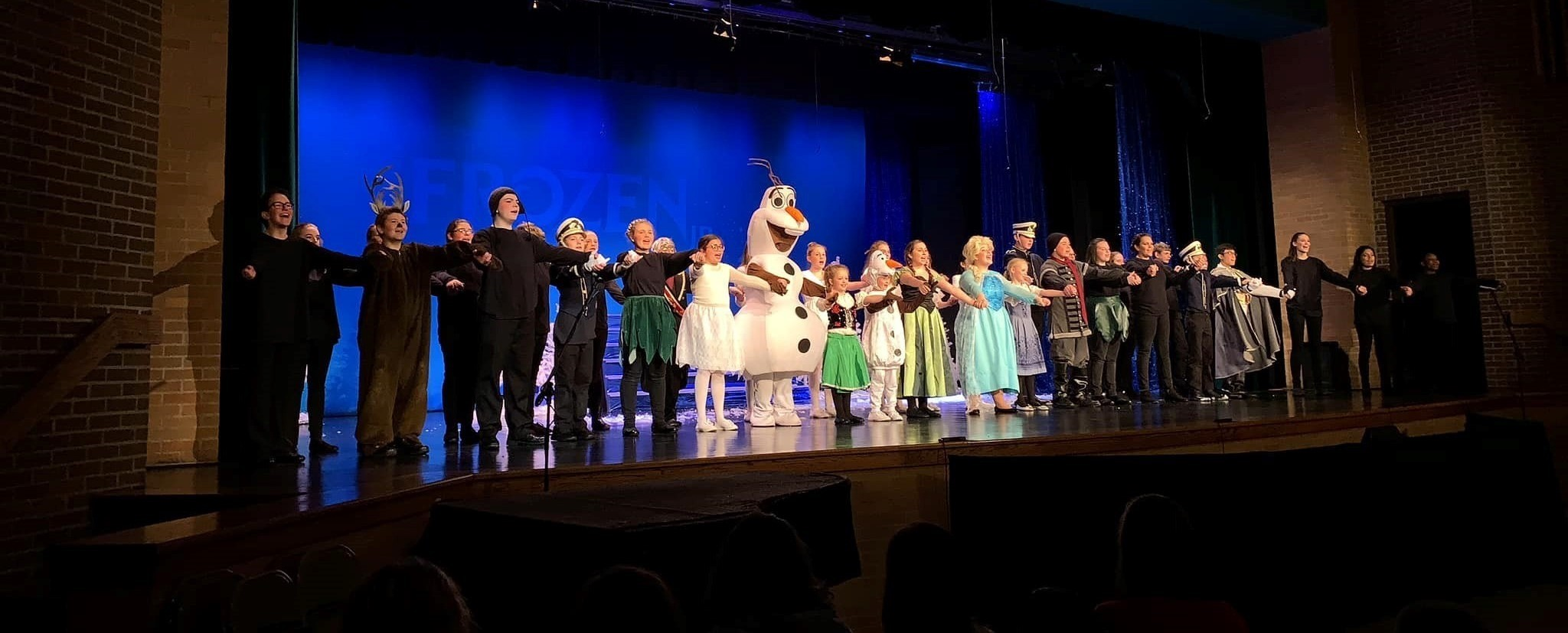 CMS Cast of Frozen