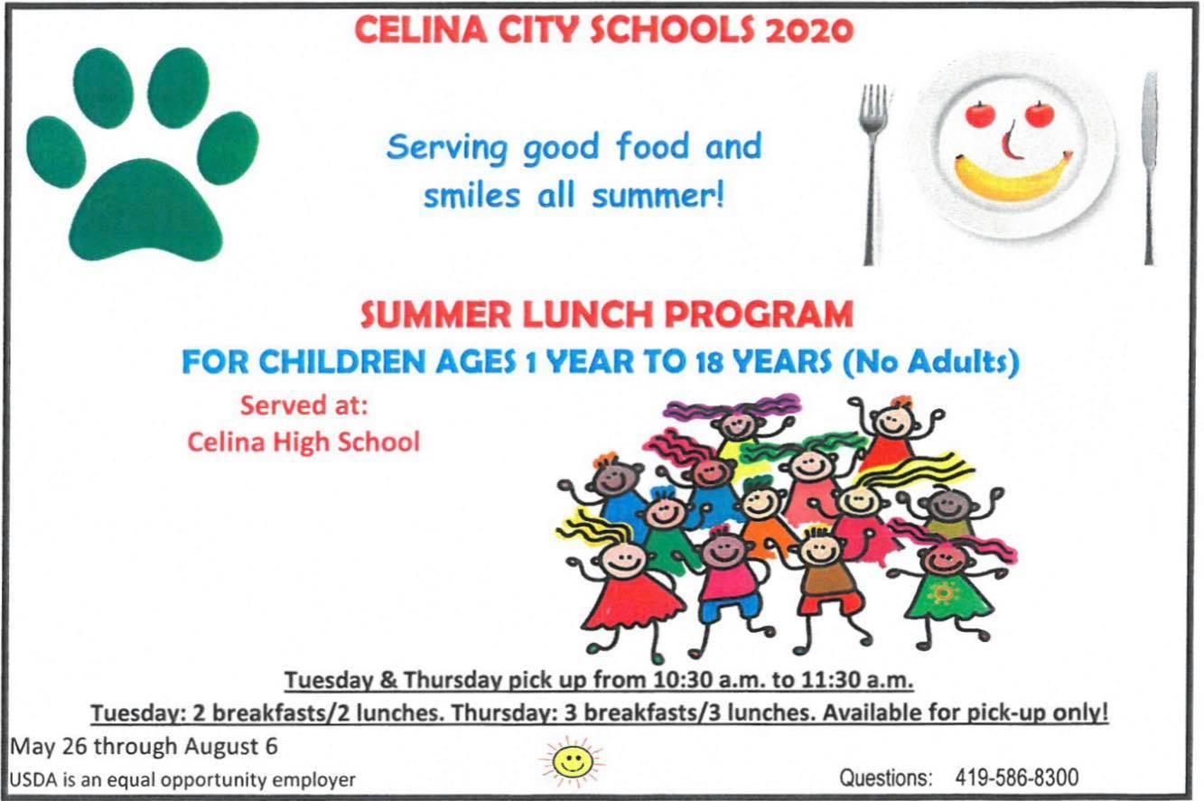 Summer Lunch Program Information