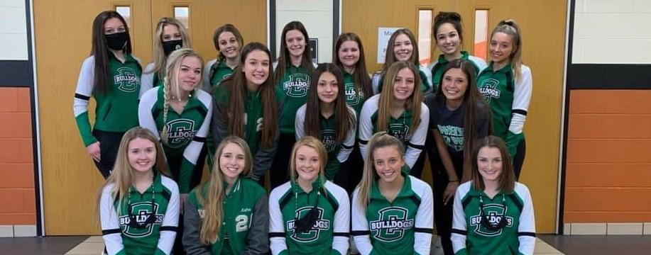 CHS 2021 Cheerleaders