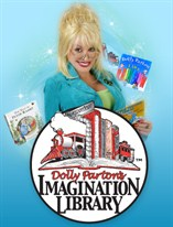 Dolly Parton Imagination Library logo.