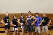 Senior Athletes who are College Bound