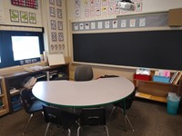 Classroom Reading Table.